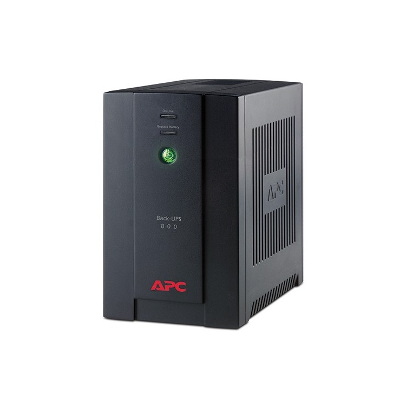 BX800CI-LM - APCÿBack-UPS, 480 Watts / 800 VA, Entrad