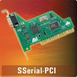 SSerial-PCI - PCI single 9-pin 16550, supports IRQ sha