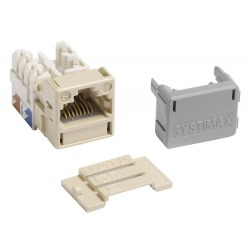 700206717- systimax Jack GigaSPEED, Cat 6, Ivory