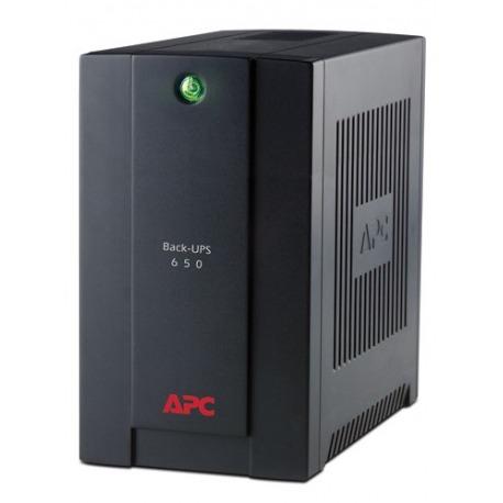 BX650CI-LM - APC Back-UPS, 390 Watts / 650 VA, Entrad