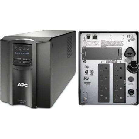 SMT1000 - UPS APC Smart-UPS, 700Watts / 1000 VA