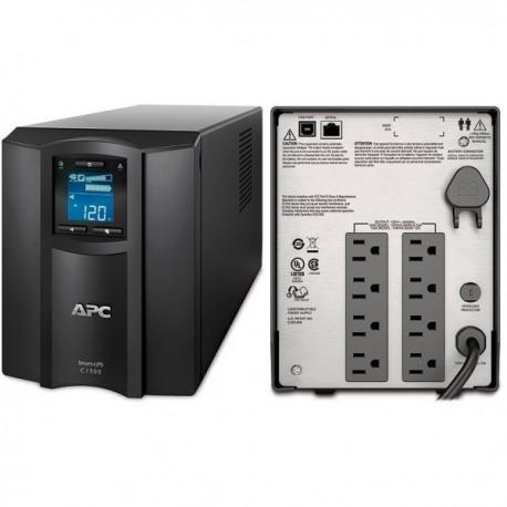 SMC1500 - APC Smart-UPS C, 900 Watts / 1500 VA