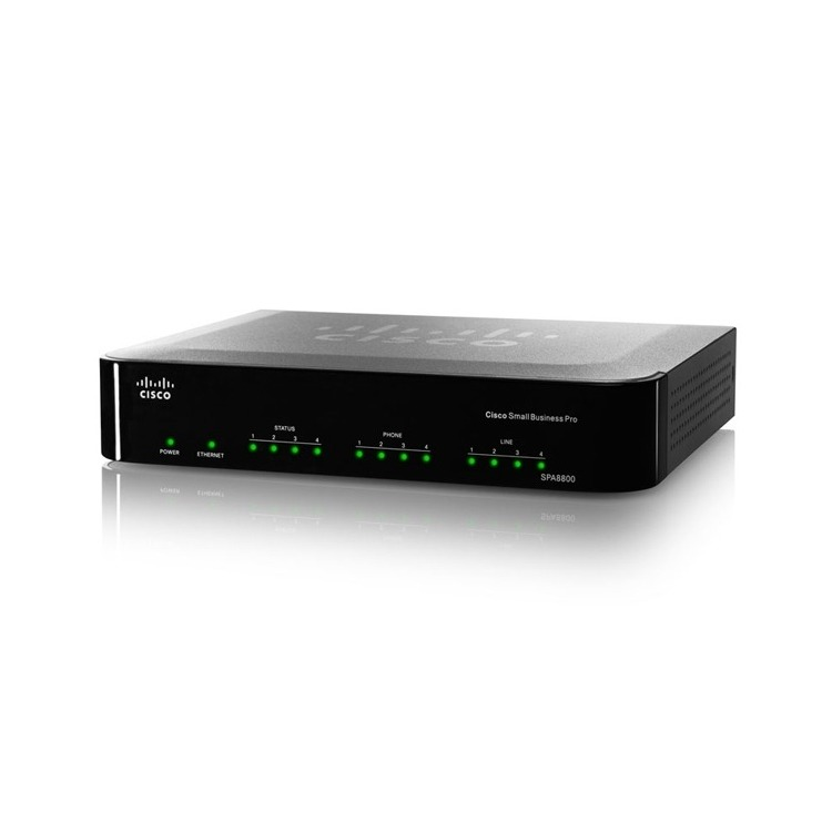 SPA8800 - IP Telephony Gateway with 4 FXS and 4 FX
