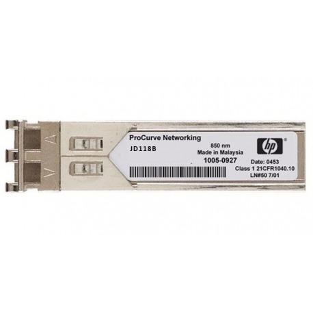 JD118B - HP X120 1G SFP LC SX TRANSCEIVER Multimo