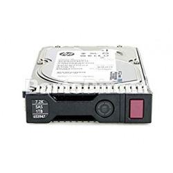652753-B21 - HP 1TB 6G SAS 7.2K rpm LFF (3.5-inch) SC