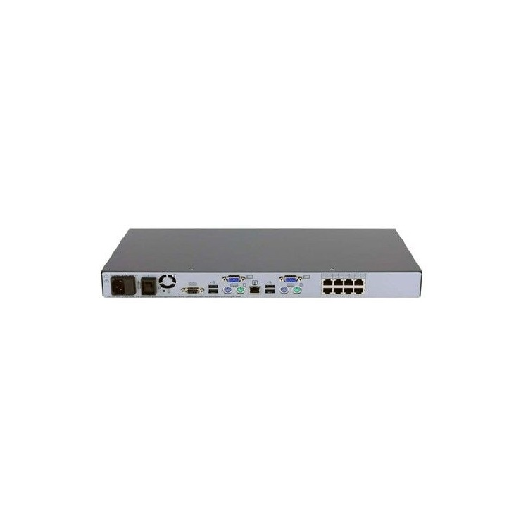 AF616A - HP KVM Server Console Switch 0x2x8 - PS/
