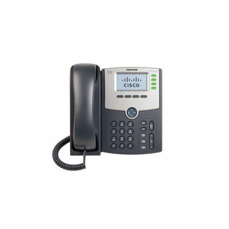 SPA504G - Telefono IP 4 Lineas/ con Display, PoE