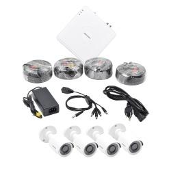 N/P : HIK1080KIT4 - HIKVISION - KIT TurboHD 1080p / Hik-Connec