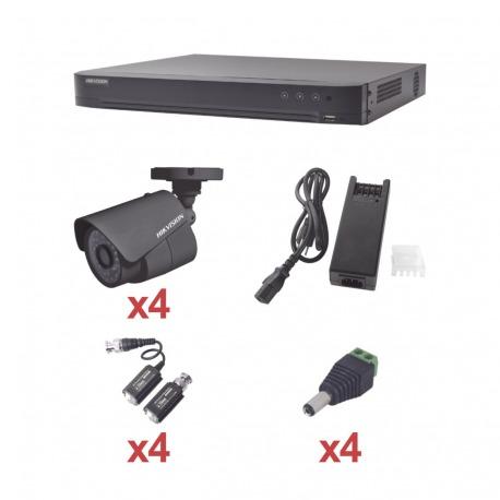 N/P : KH1080P4B - HIKVISION - KIT TurboHD 1080p / DVR 4 Cana