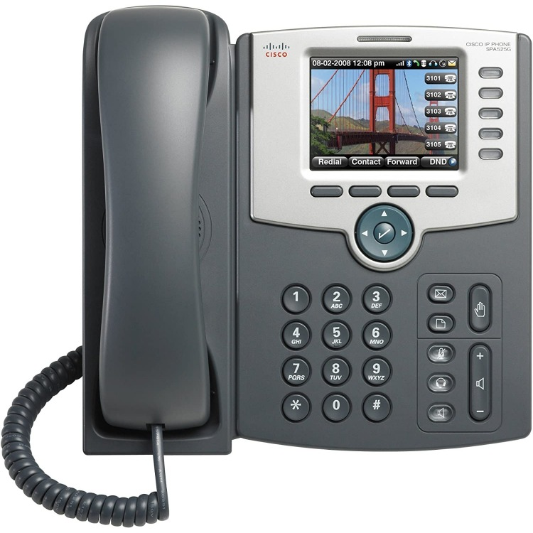 SPA525G2 - Telefonno IP/5 Lineas con display a col