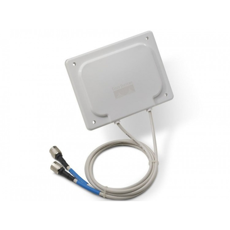 AIR-ANT2485P-R - 2.4 GHz, 8.5 dBi Patch Antenna w/ RP-TNC