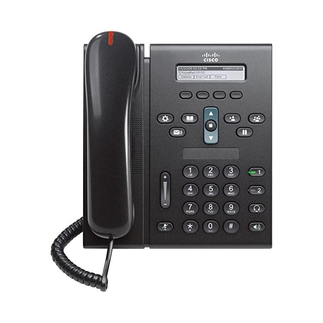 Cisco UC Phone 6921-Charcoal- Standard -N/P: CP-6921-C-K9
