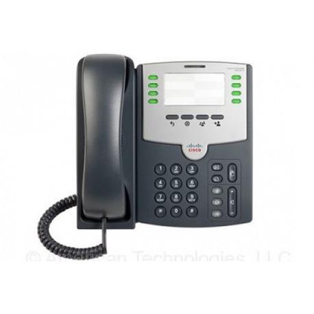 SPA501G - Telefonno IP/ 8 lineas / no tiene displ
