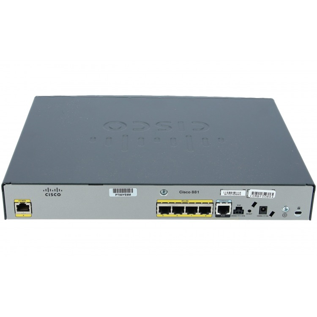 CISCO881-SEC-K9 - Cisco 881 Ethernet Sec Router w- Adv IP