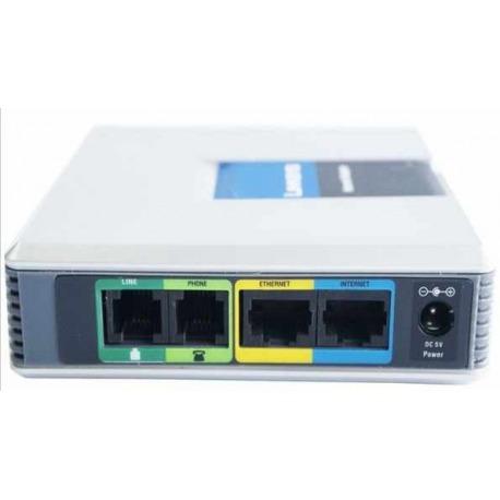 SPA3102-NA - 1-Port Router con 1 Puertos Telefonico F