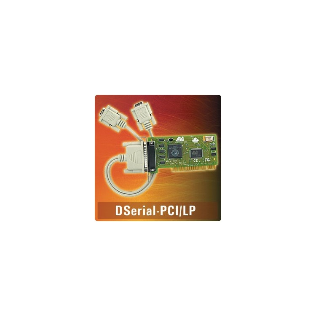 DSerial-PCI/ LP - PCI dual 9-pin 16550, supports IRQ shari