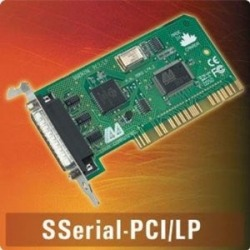 SSerial-PCI/ LP - PCI single 25-pin 16550, supports IRQ sh