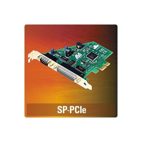 SP-PCIe - 1 port serial, 1 port parallel, PCIe, fu