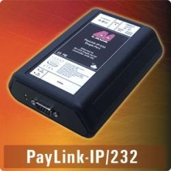 Paylink-IP/SDLC - IP-enabled 9-pin RS232 serial port, SDLC