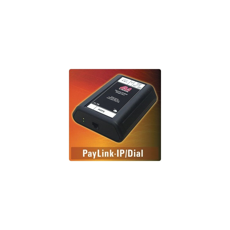 Paylink-IP/Dial - Dial-to-IP converter, emulates POTS line