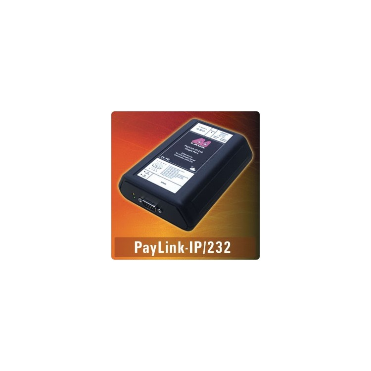 Paylink-IP/232 - IP-enabled 9-pin RS232 serial port, SSL