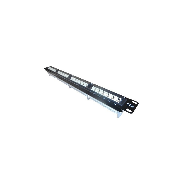 QP PP32E - PATCH PANEL - 32 Port 45 degree Patch Pa