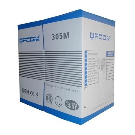 QP-65504A - CABLE UTP SOLIDO - CAT. 5E 24A WG 4PR UT
