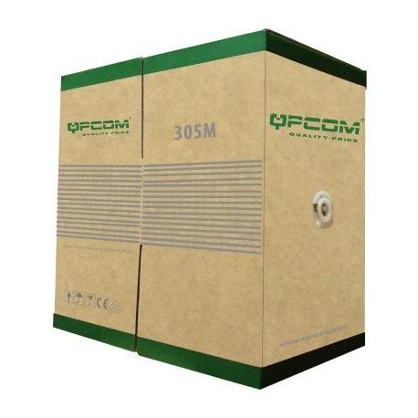 QP-66804 - CABLE UTP SOLIDO - Cat. 6, 24 AWG, 4 Par