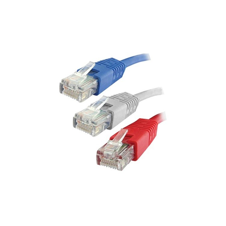 QP 60520R - PATCH CORD - Cat. 6 UTP Pacth Cord caja