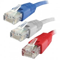 QP 60325R - PATCH CORD - Cat. 6 UTP Pacth Cord caja