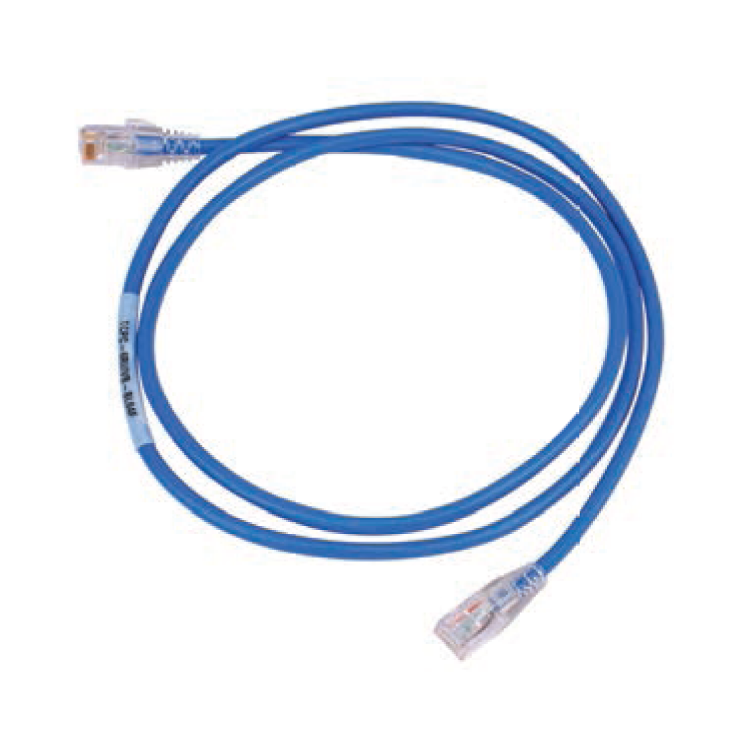 N/P : 1859008-7 - AMP - Patch Cord Cat. 6 Azul 7 ft