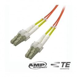 N/P : 1553446-3 - AMP - Pcord C/A FO OM4 LC-DUP LC-DUPLEX