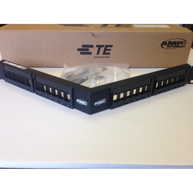 N/P : 1933309-1 - AMP - Patch Panel 24 ports Angled CAT 6A