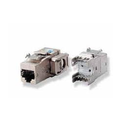 N/P : 1711343-2 (1) - AMP - Módulo AMPTWIST RJ-45 cat 6A -side