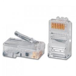N/P : 5-554720-3 - AMP - Conector 8 contactos RJ-45 plug, só