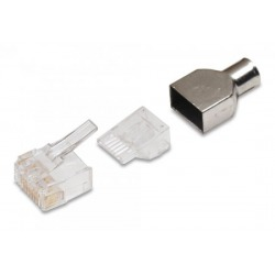 N/P : 5-1375202-2 - AMP - Conector 8 contactos RJ-45 plug, mu