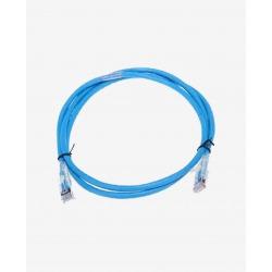 N/P : 300.001.757.260 - AMP - Patch Cord CAT6A TRUENET 10FT BLUE