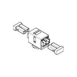 N/P : 1-1933286-2 - AMP - Adaptador Duplex LC SM-MM,SL,BEIGE