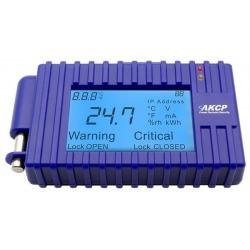 N/P : LCD-TMP - AKCP - Programmable LCD Sensor Display with bui