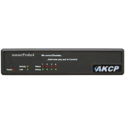 N/P : SPX4 - AKCP - 1U sensorProbeX- with 4 sensor ports
